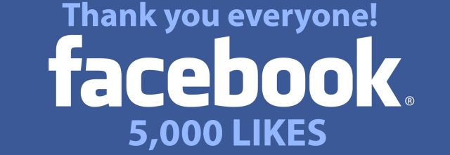 Thanks reached 5000 likes on FB.
