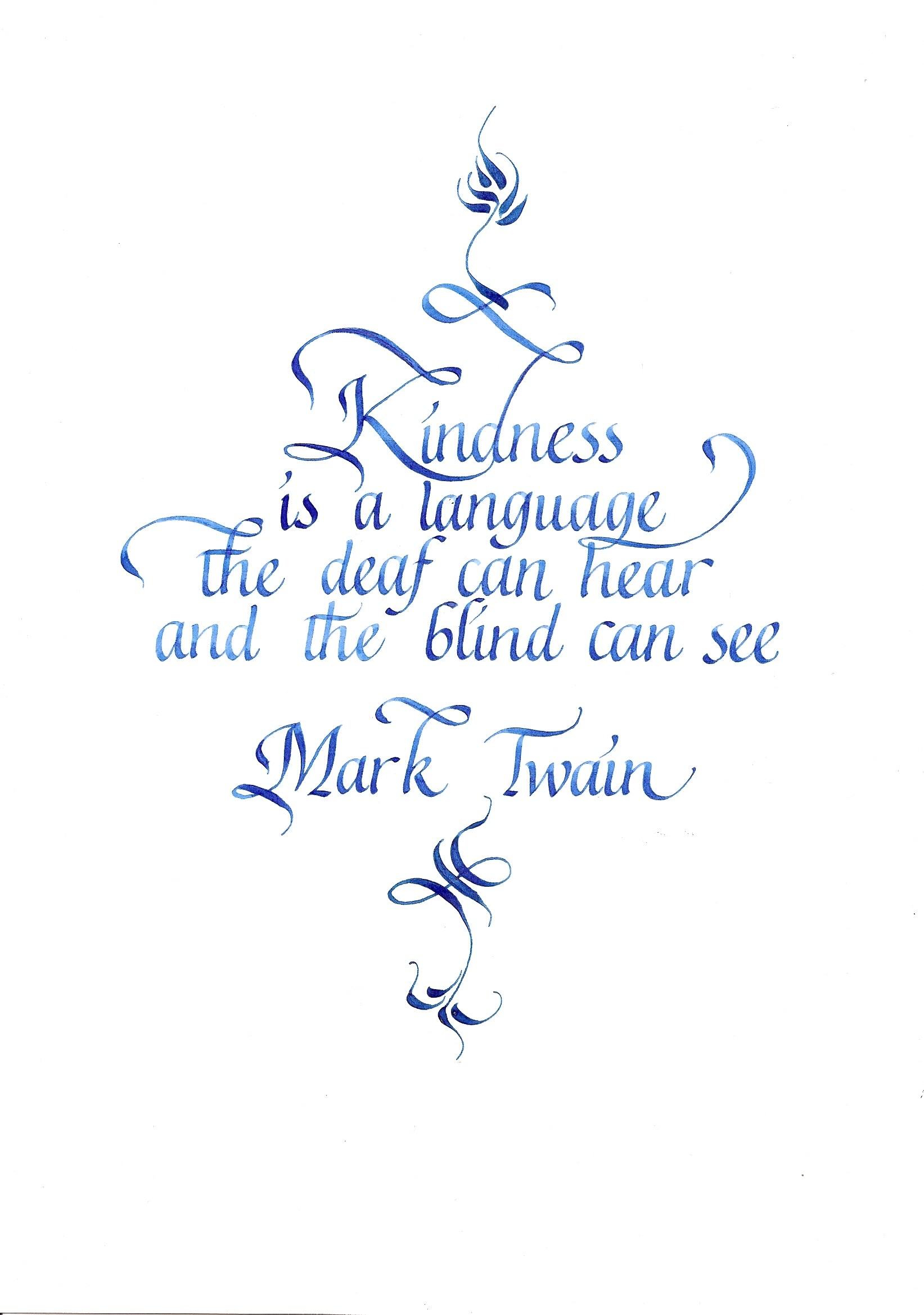 Blind Quotes Kindness Is A Language The Deaf Can Hear And The Blind Can See