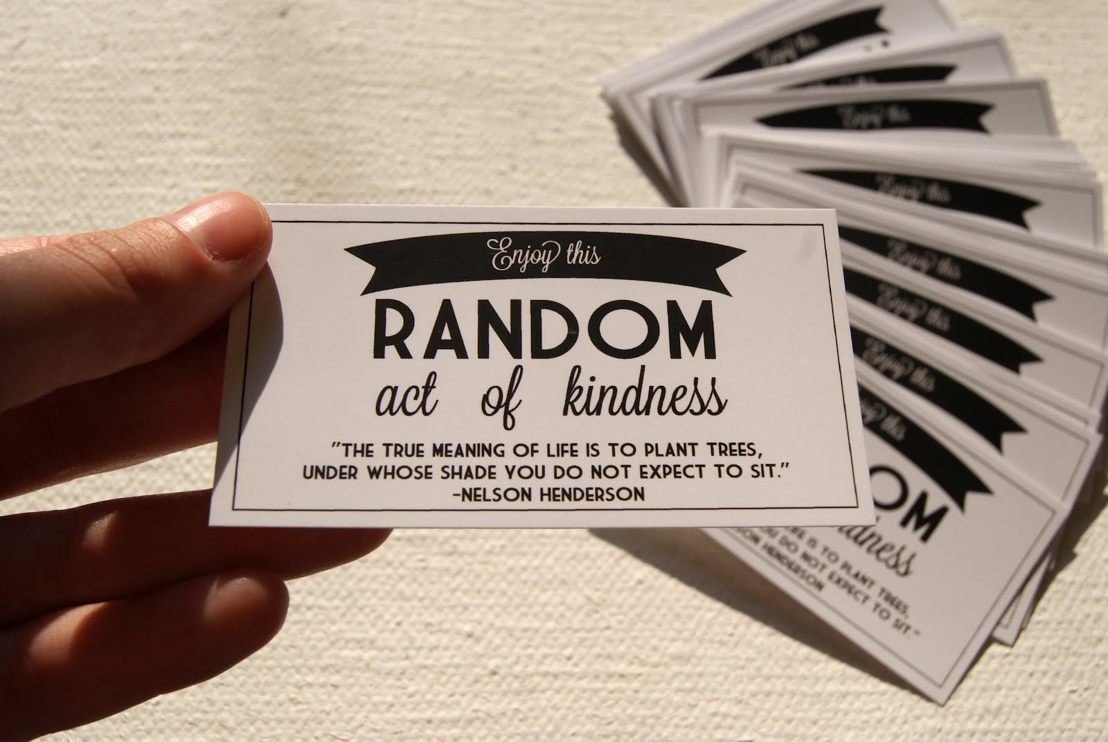 Improve Your Life By Performing A Random Act Of Kindness A