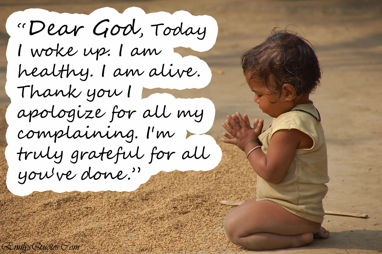Thanking God Quotes Dear God I'm Truly Grateful For All You've Done Small Acts Of