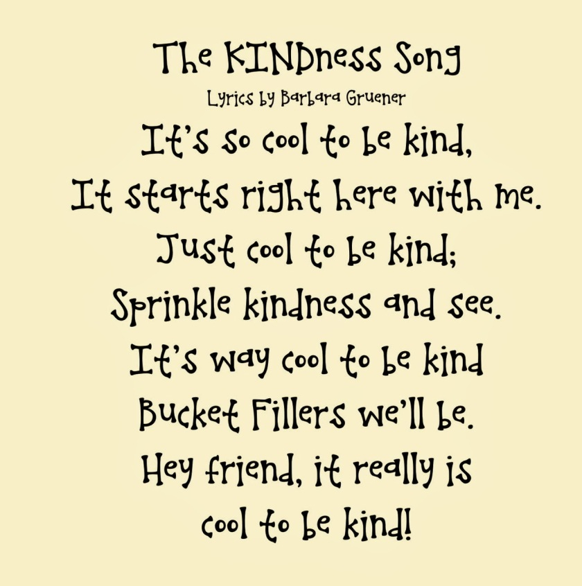 The Kindness Song.