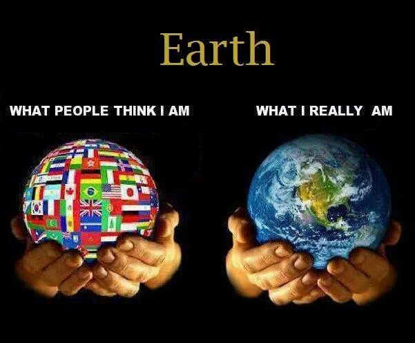 How do you see the earth a small act of kindness can bring smile on